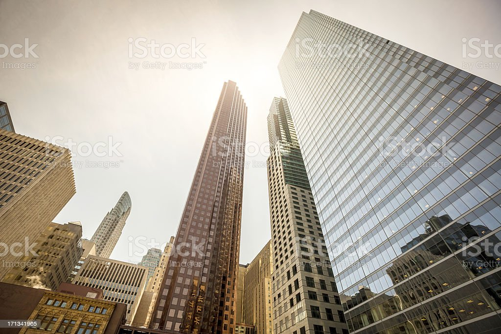 Architecture Financial District Toronto stock photo