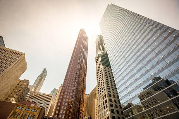 Architecture Financial District Toronto stock photo