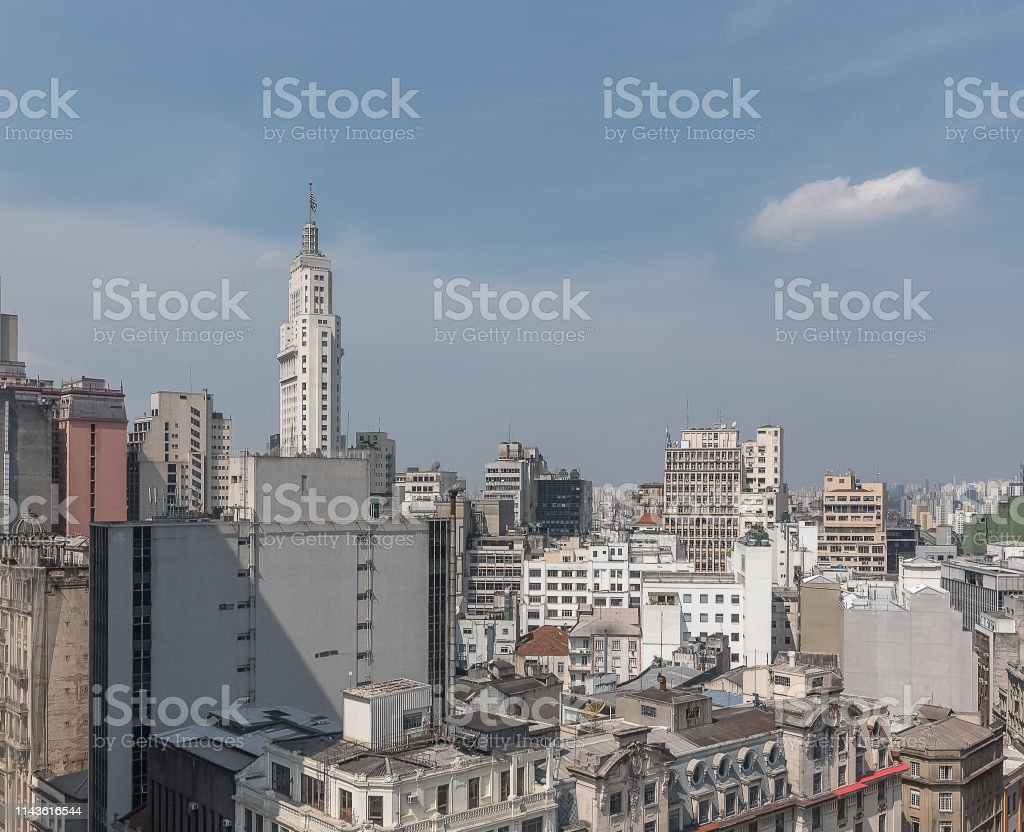 Architecture From São Paulo Downtown Stock Photo - Download Image Now