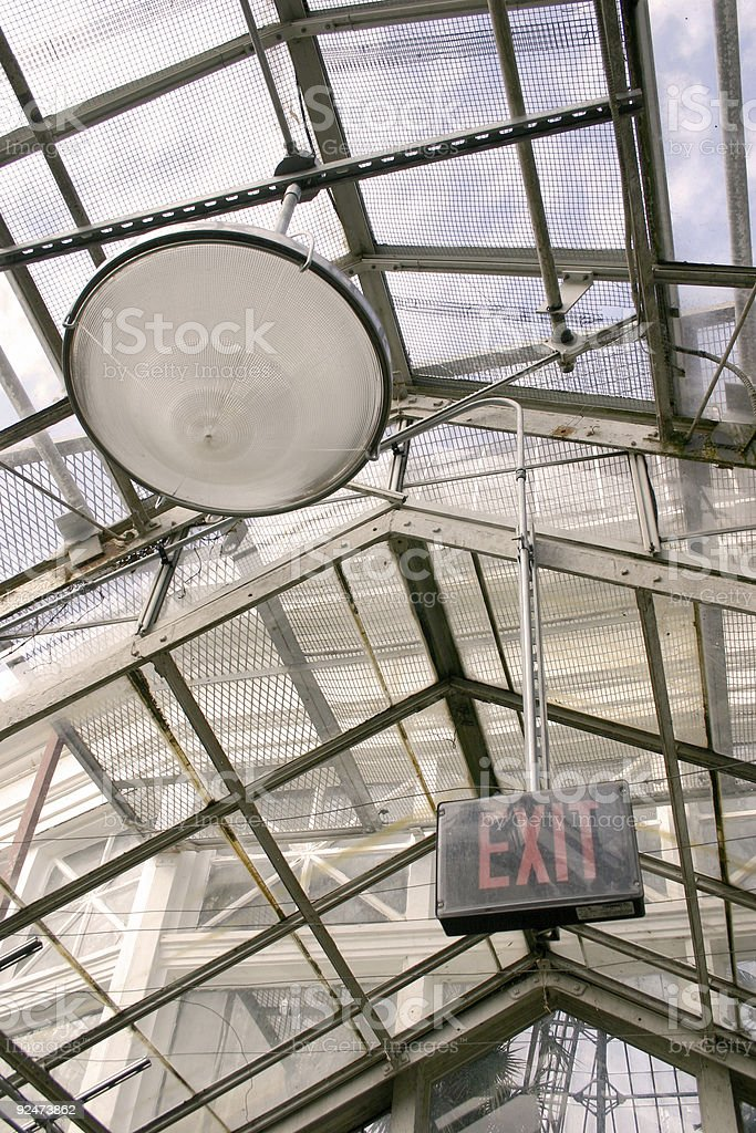 Architecture - Greenhouse royalty-free stock photo