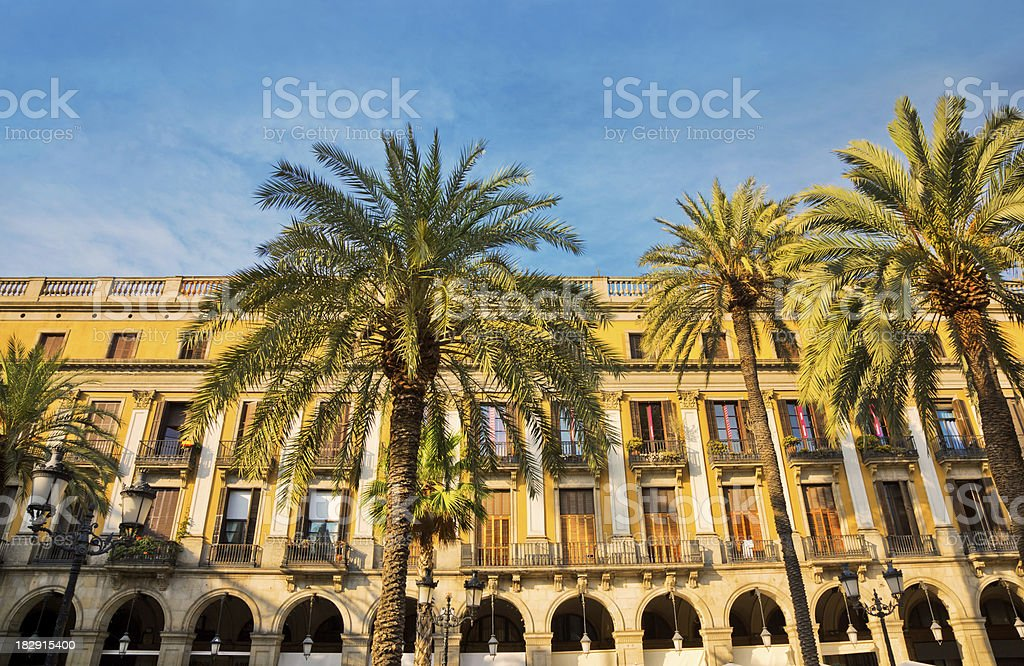 Architecture in Barcelona , Spain royalty-free stock photo