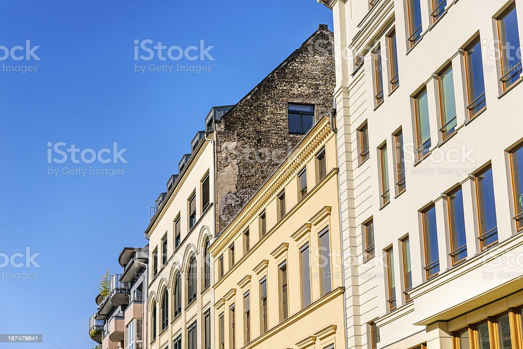 Architecture in Berlin, Germany royalty-free stock photo