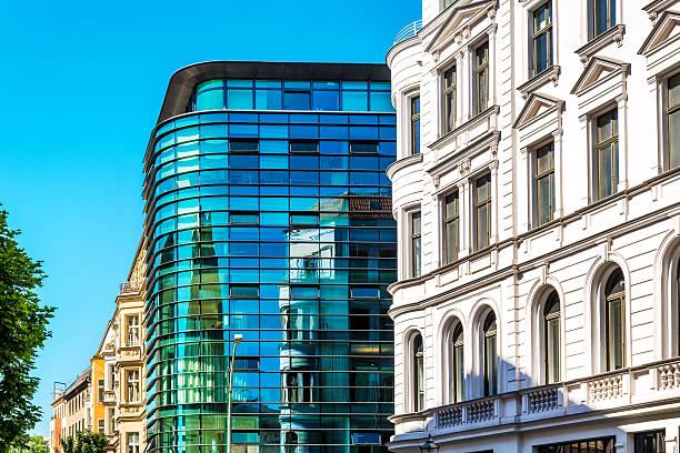 architecture in berlin, germany - oost duitsland stockfoto's en -beelden