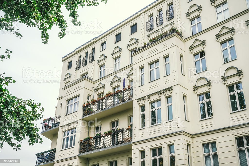 Architecture in Berlin, Prenzlauer Berg stock photo