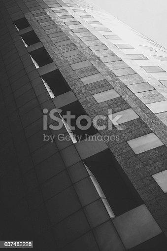 istock Architecture in black and white 637482228