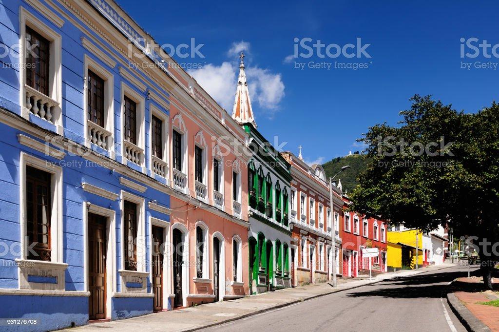 Arquitectura en Bogotá, Colombia - foto de stock