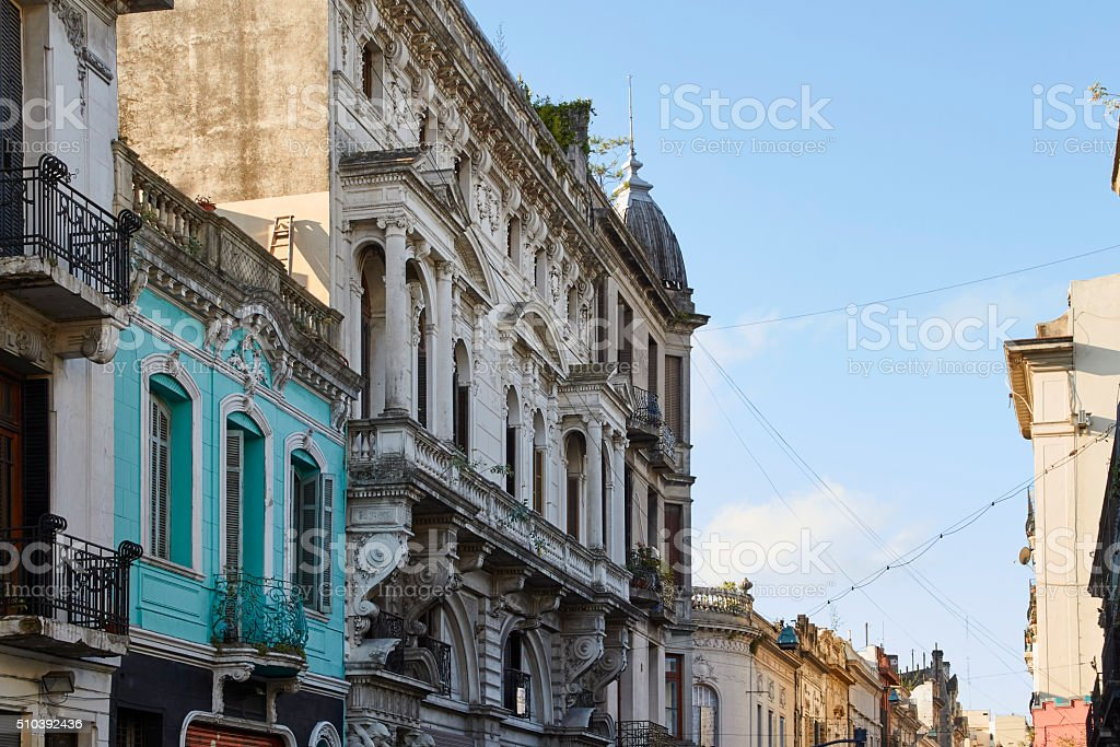 Architecture in Buenos Aires stock photo
