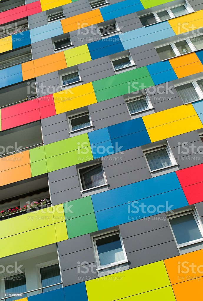 Architecture in Color royalty-free stock photo