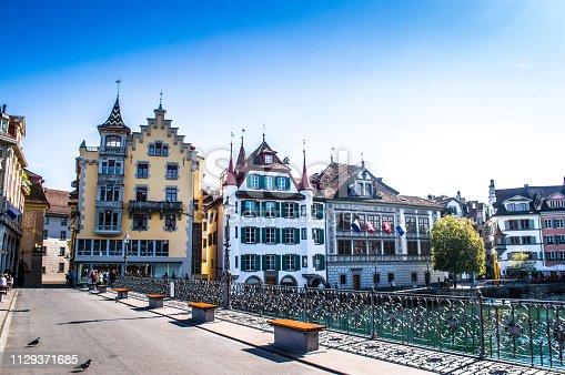 Architecture In Luzern, Switzerland