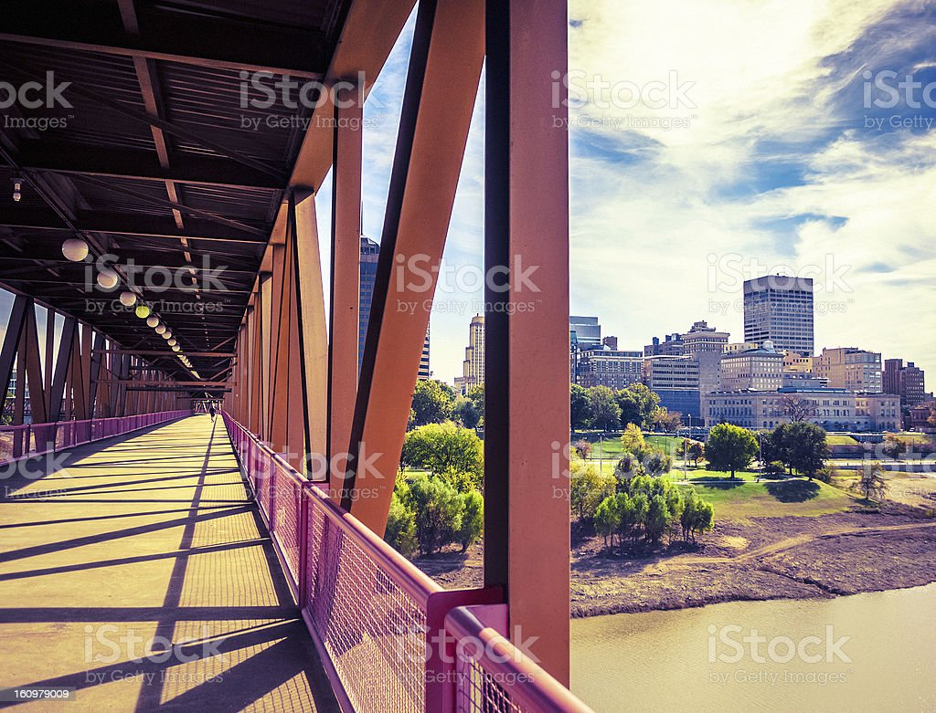 Architecture in Memphis stock photo