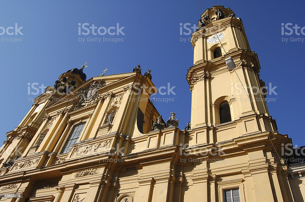Architecture in Munich royalty-free stock photo