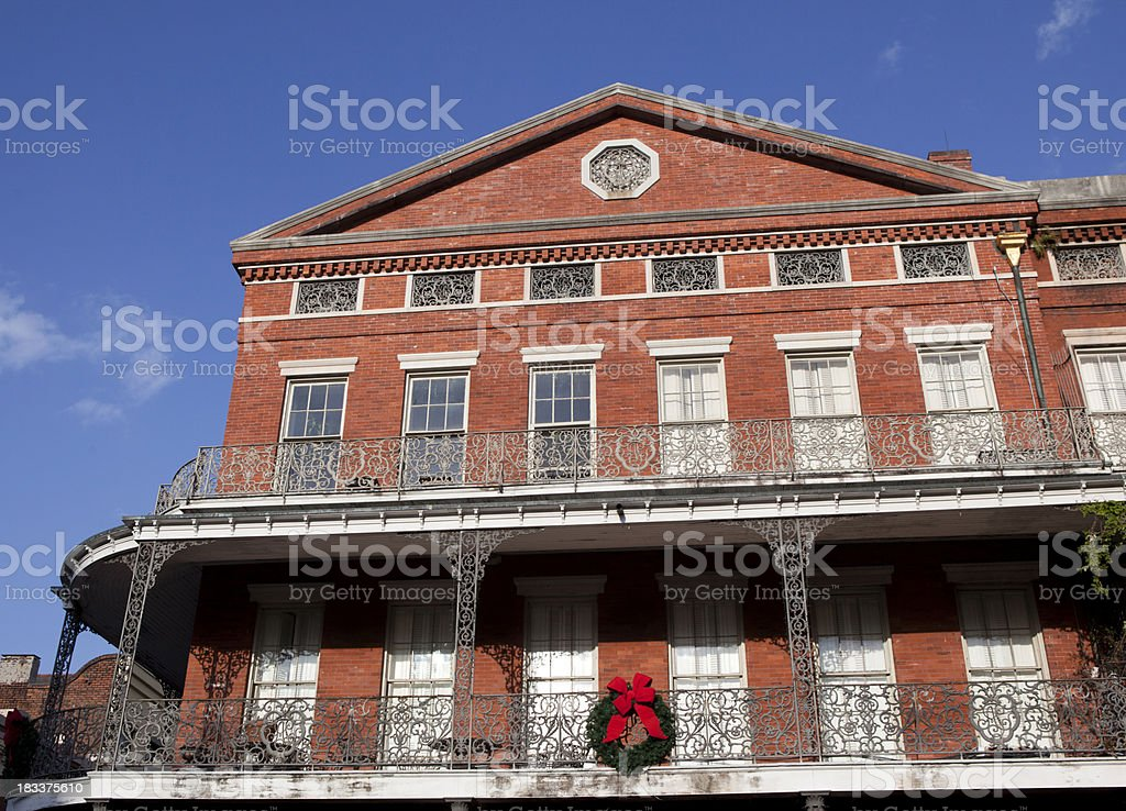 Architecture in New Orleans Louisiana royalty-free stock photo