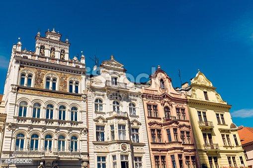 istock Architecture in Plzen, Czech Republic 484958062
