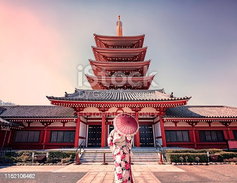 istock Architecture in Tokyo 1152106462