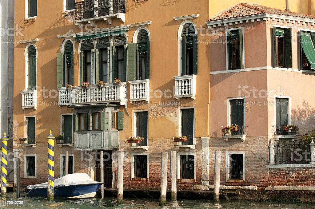 architecture in Venice royalty-free stock photo