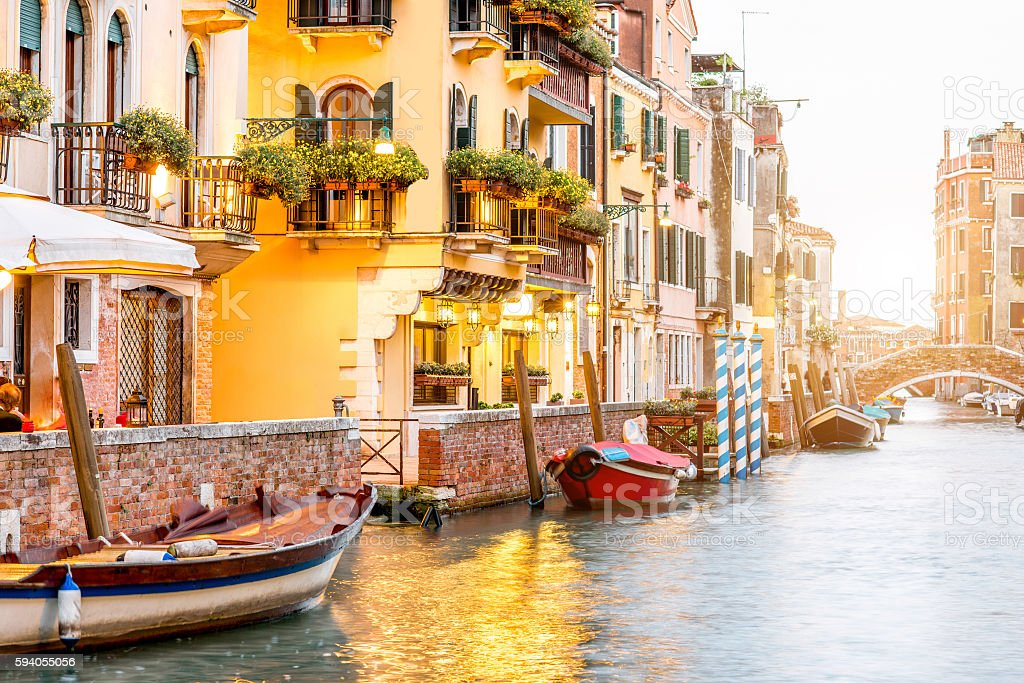 Architecture in Venice stock photo