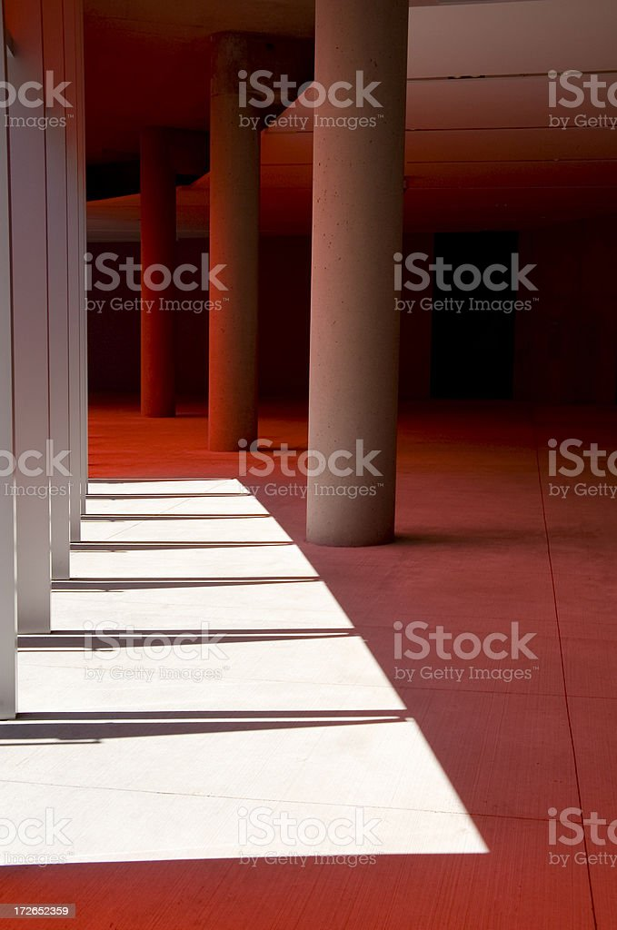 Architecture Interior Detail royalty-free stock photo
