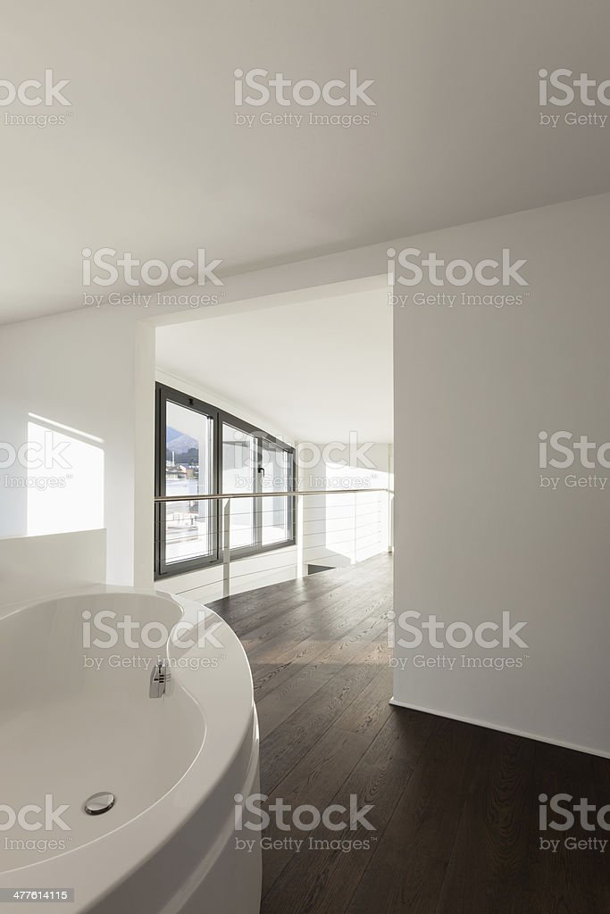 Architecture, interior empty house royalty-free stock photo