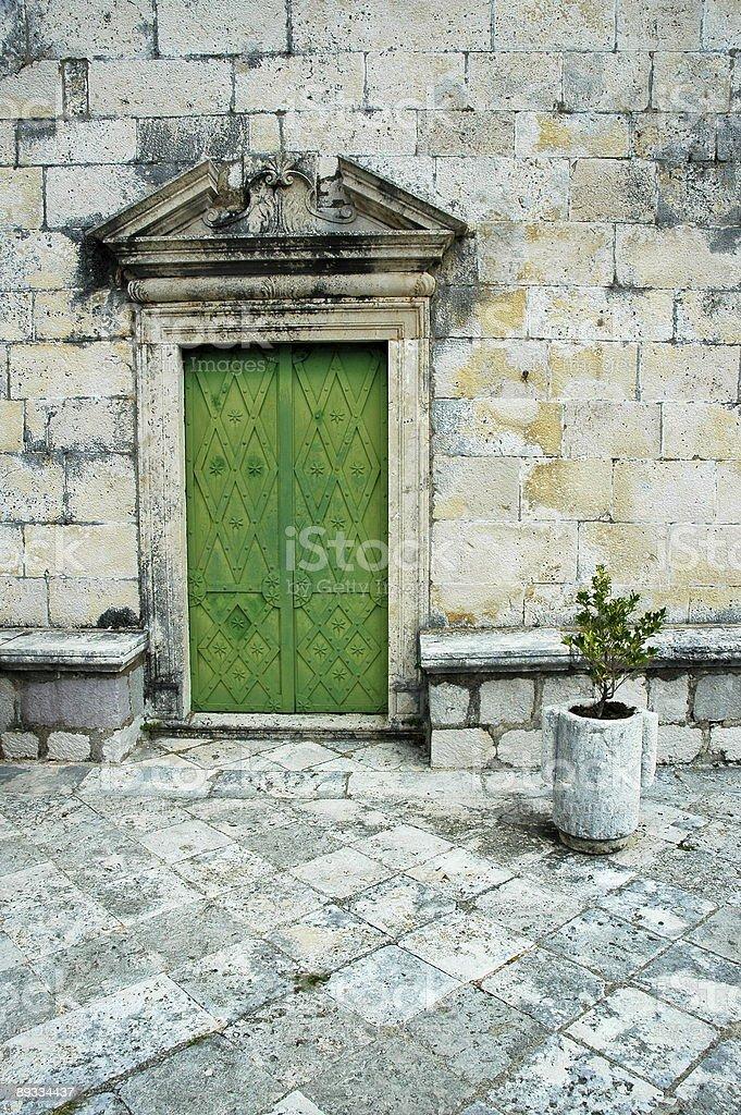 Architecture, Kotor, Montenegro. stock photo