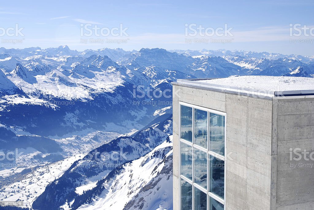 architecture meets nature royalty-free stock photo