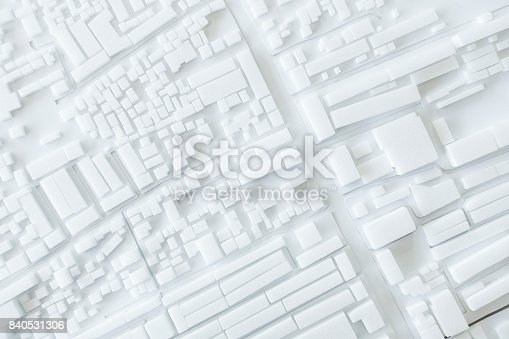 istock Architecture Model Urban cityscape concept design 840531306
