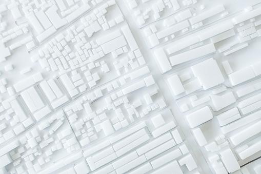 istock Architecture Model Urban cityscape concept design 840531306