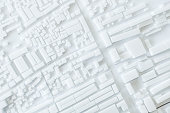 Architecture Model Urban cityscape concept design
