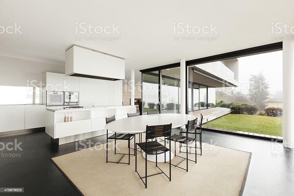 Architecture, modern interior royalty-free stock photo