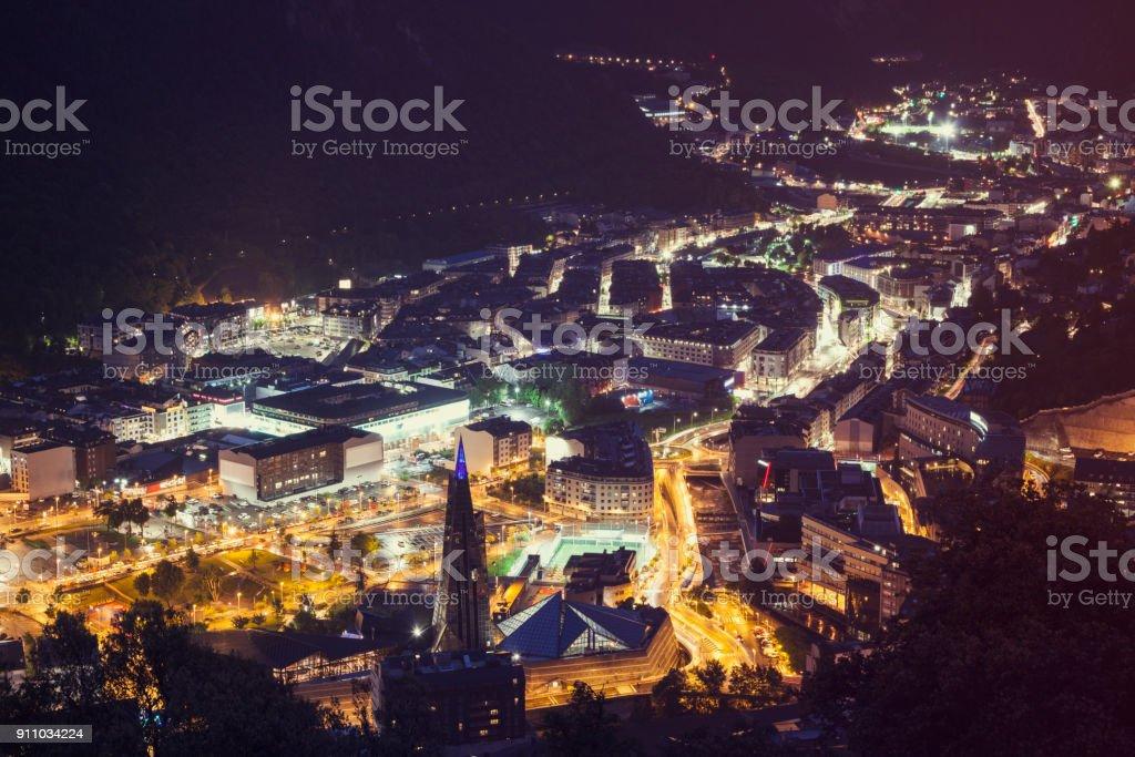 Arquitetura de Andorra la Vella - foto de acervo