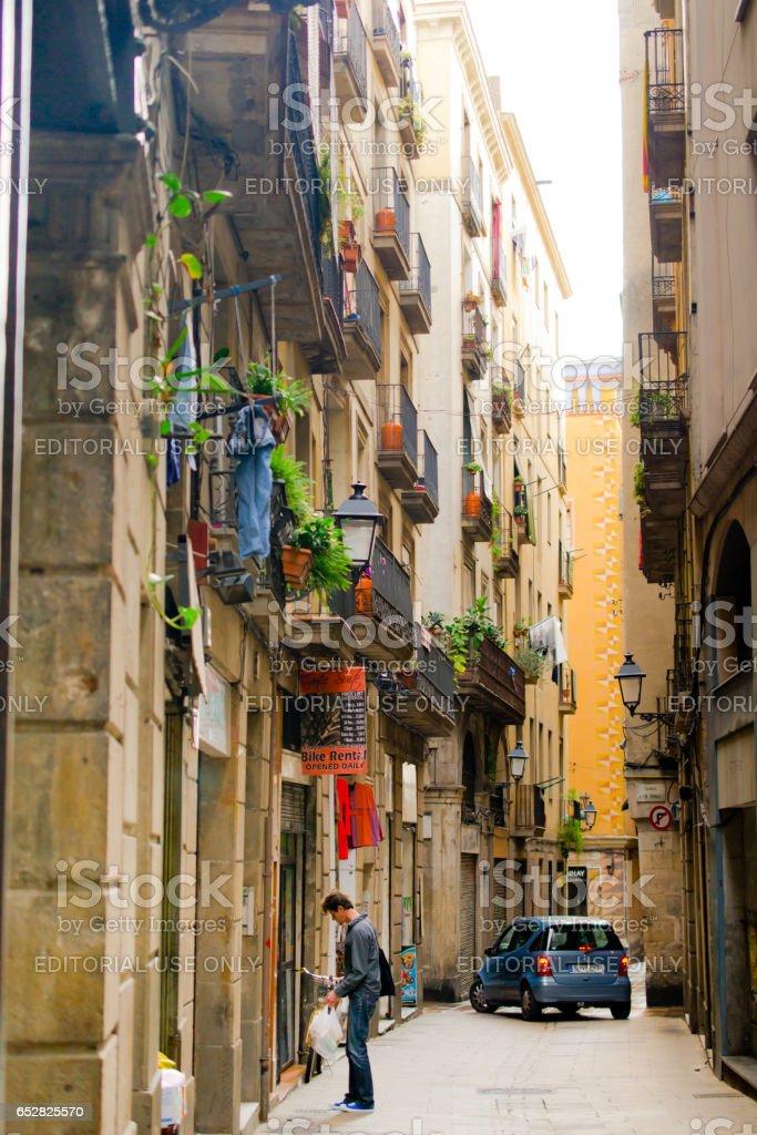 Barcelona Spain Catalonia Europe Gothic Quarter Barcelona Spain