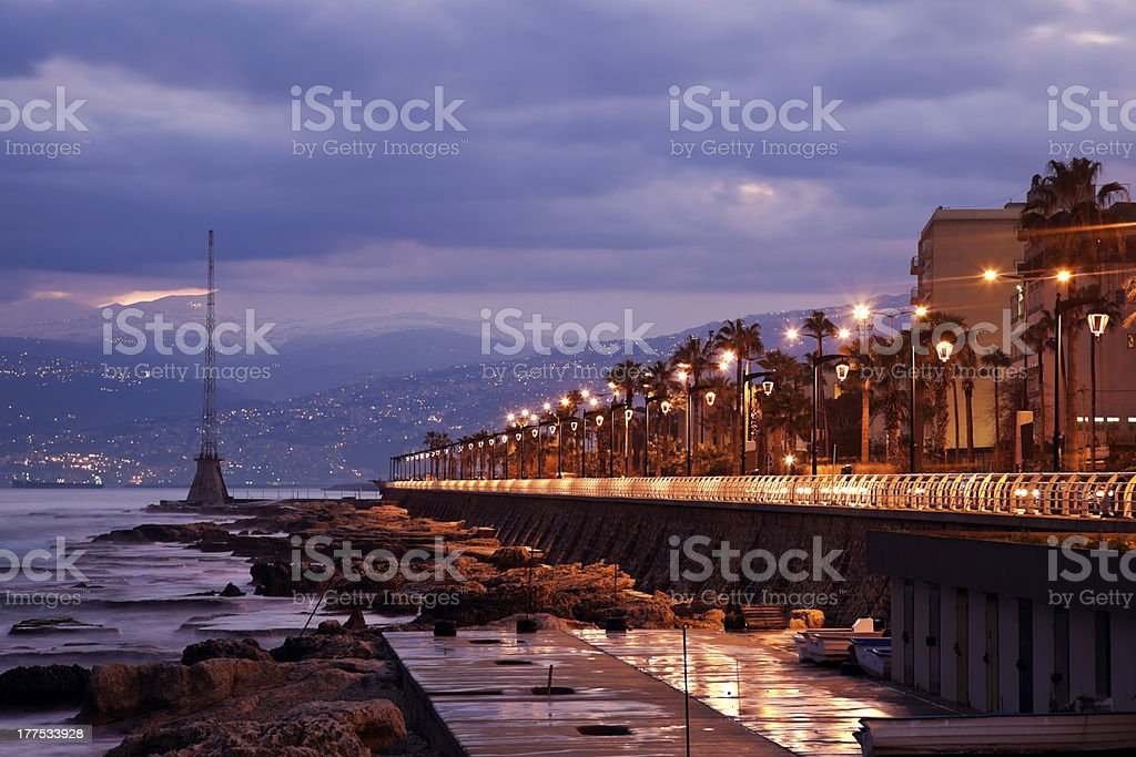 Architecture of Beirut stock photo