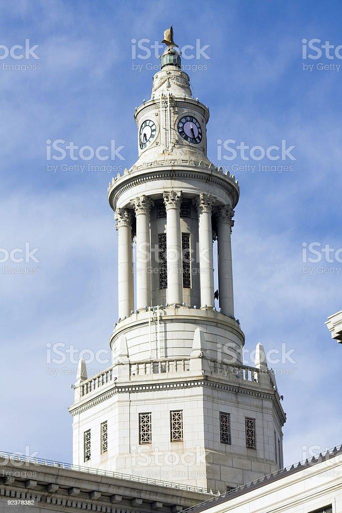 Architecture of Denver stock photo