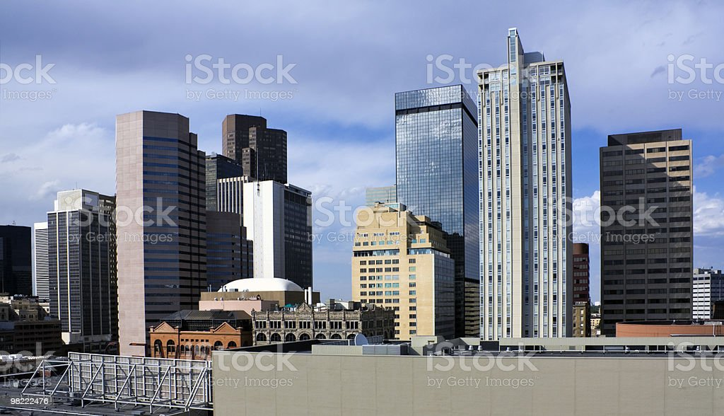 Architecture of Denver royalty-free stock photo