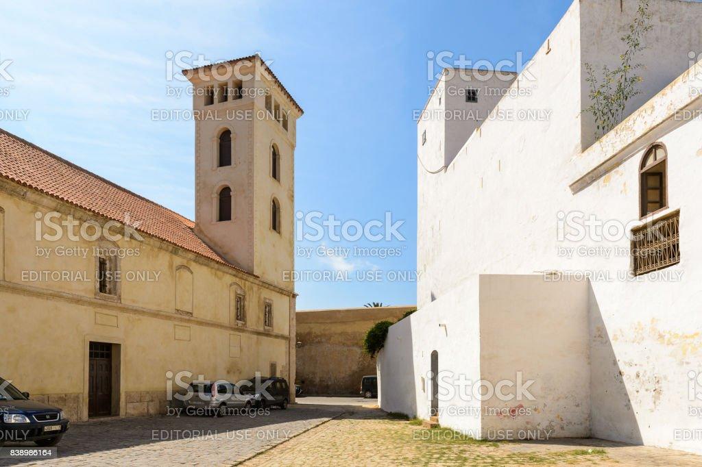 Architecture of El Jadida, Morocco stock photo