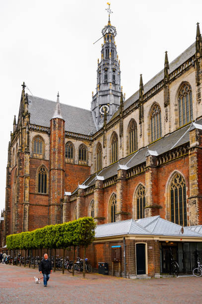 Architecture of  Haarlem, Netherlands - foto stock