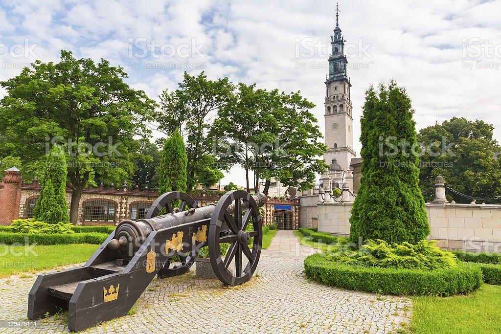 Architektura Klasztor na Jasnej Górze w Częstochowa – zdjęcie