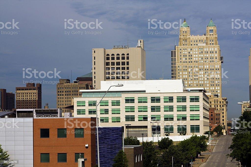 아키텍처 캔자스 시티 royalty-free 스톡 사진