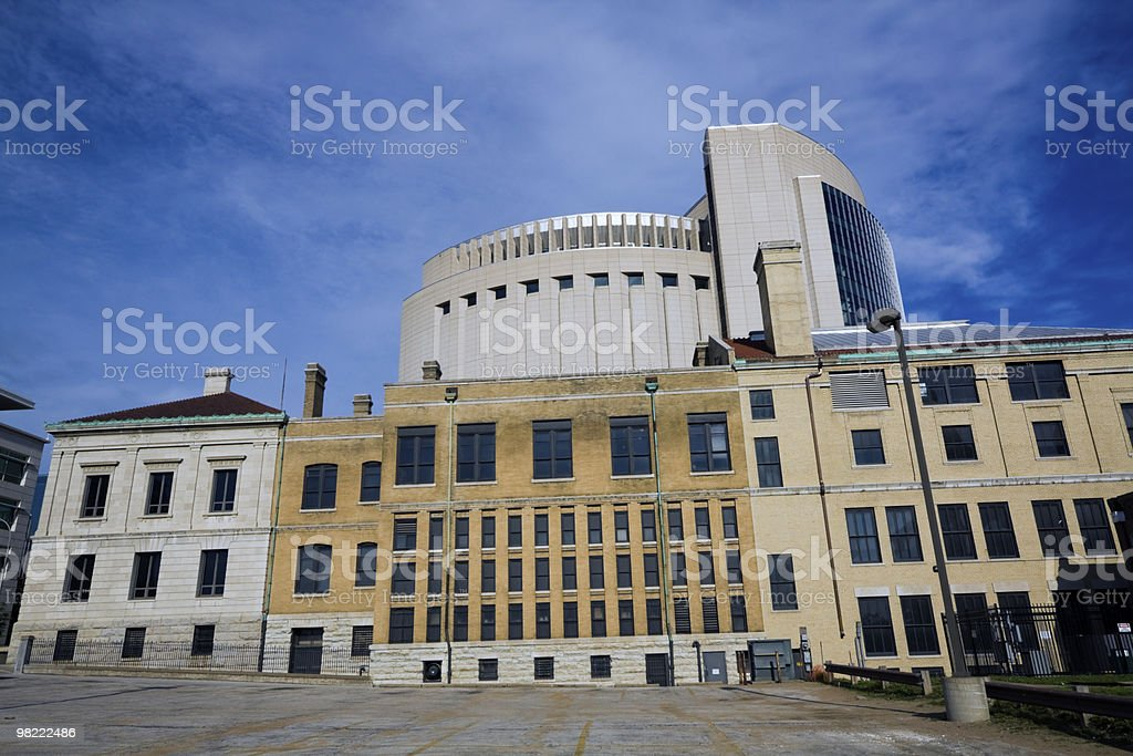 Architecture of Kansas City royalty-free stock photo