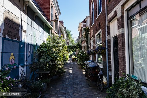 Korte Annastraat is a small and quiet street in the historical center of Haarlem, The Netherlands.