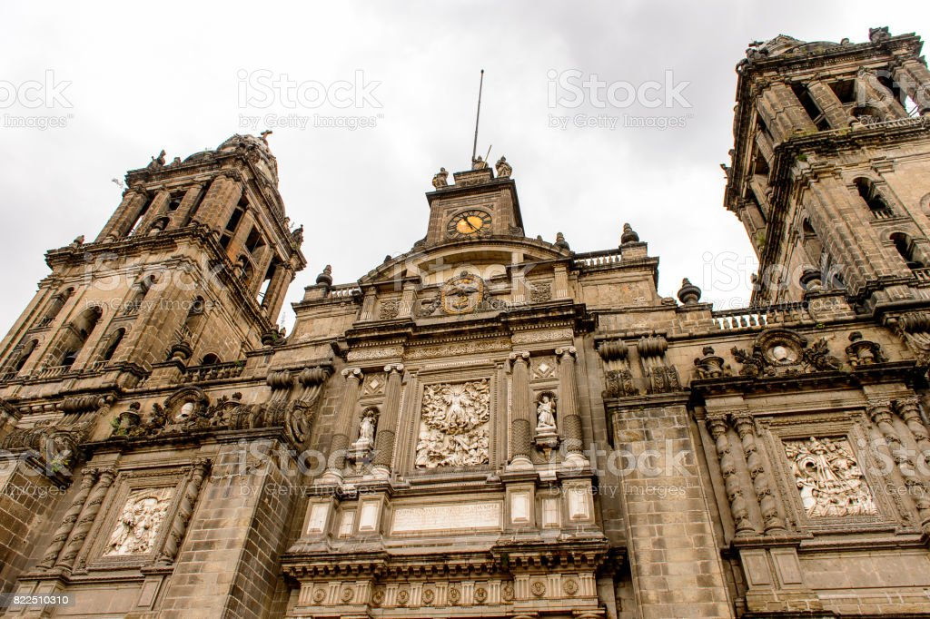 Mexico City Cathedral, is largest church in the Americas and a seat...