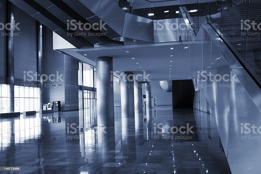 architecture of modern building stock photo