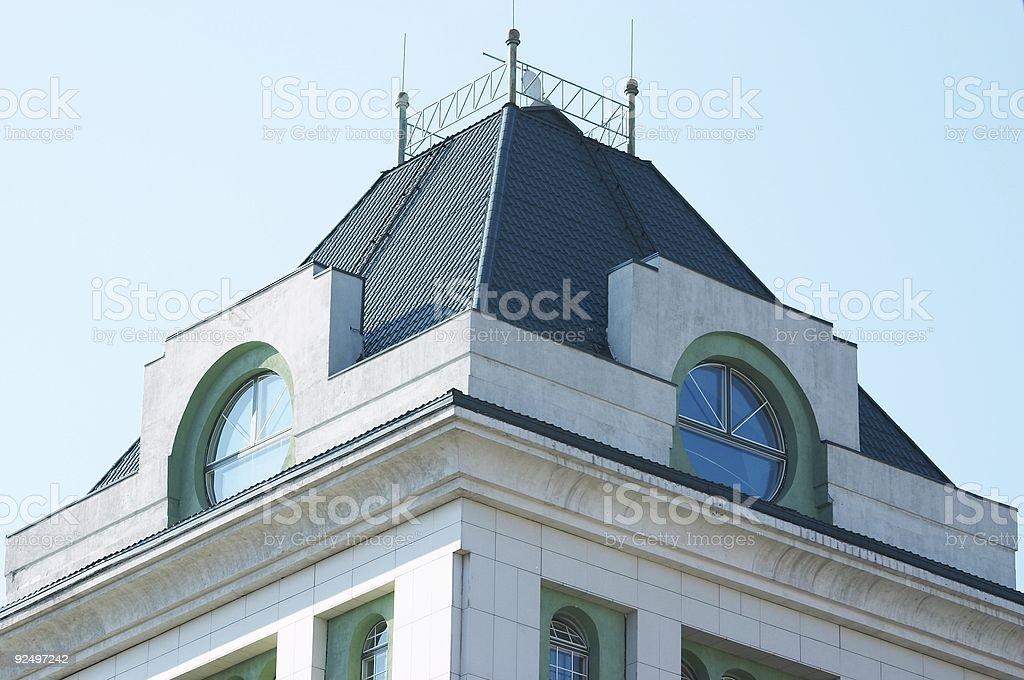 Architecture of Novosibirsk royalty-free stock photo