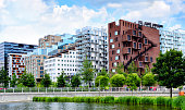 Modern architecture of Oslo, Norway