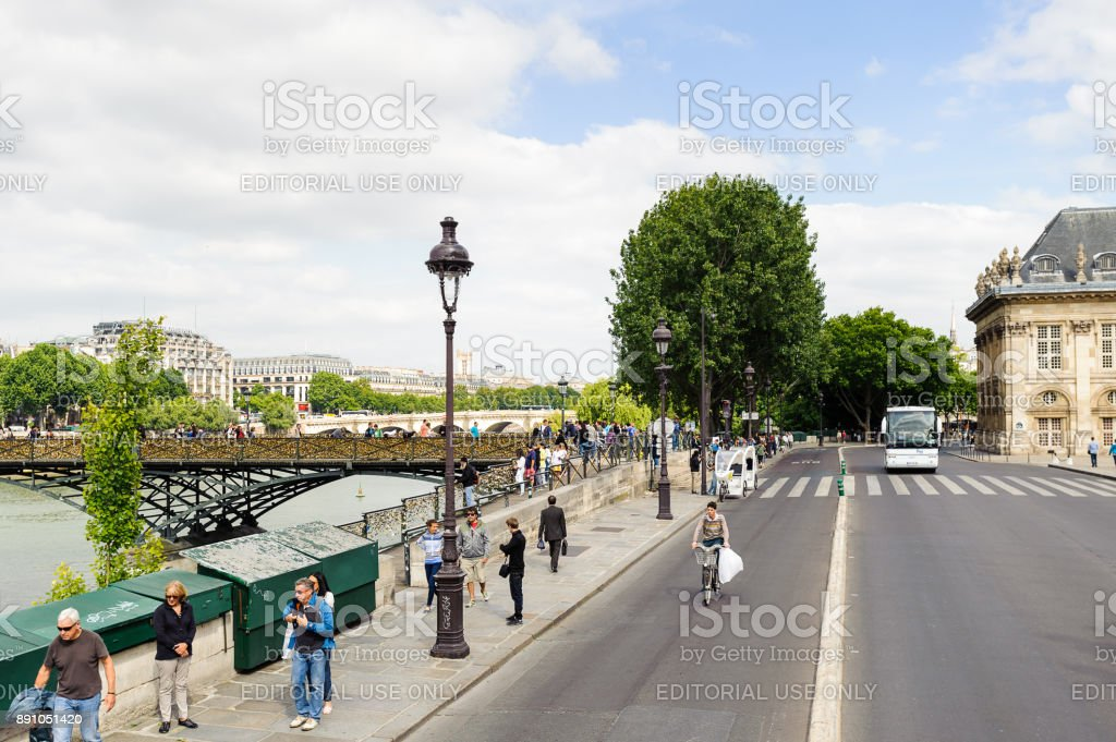 Architecture of Paris, France stock photo