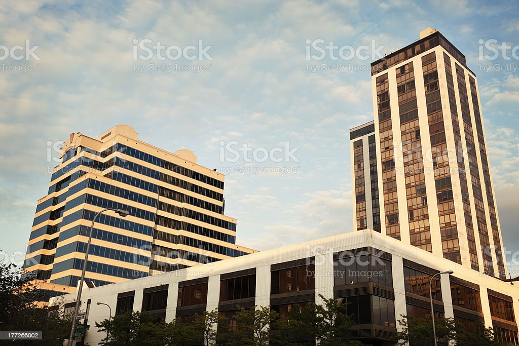 Architecture of Peoria stock photo