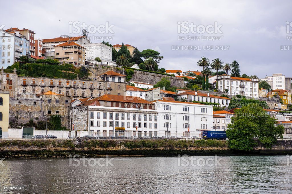 Architecture of Porto, Portugal stock photo