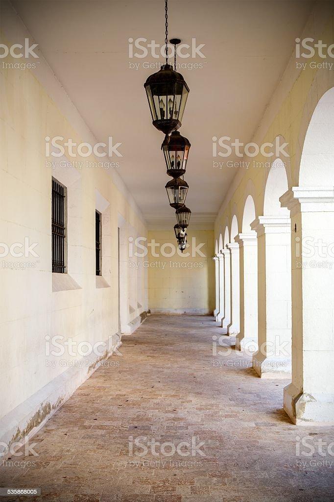 Architecture of Santo Domingo stock photo