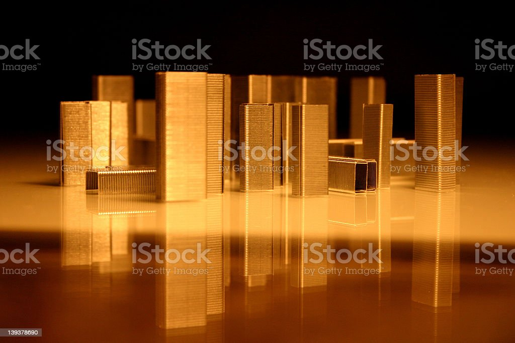 Architecture of staples royalty-free stock photo