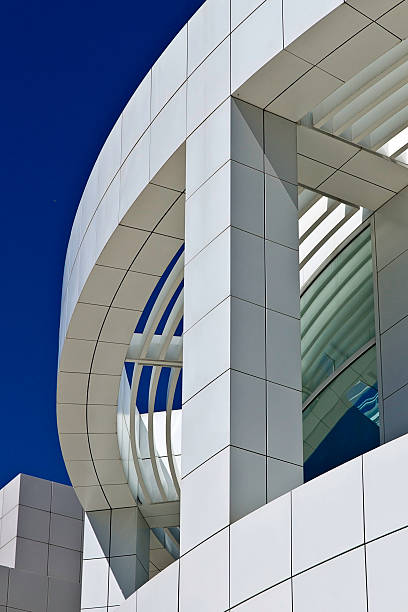 Architektur des the Getty Center Los Angeles – Foto