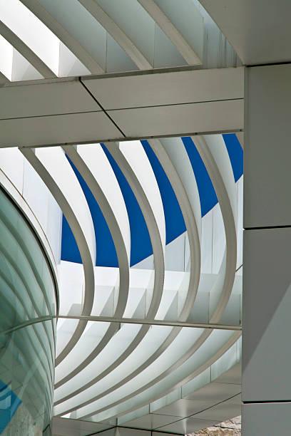 Architektur das Getty Center, Los Angeles – Foto